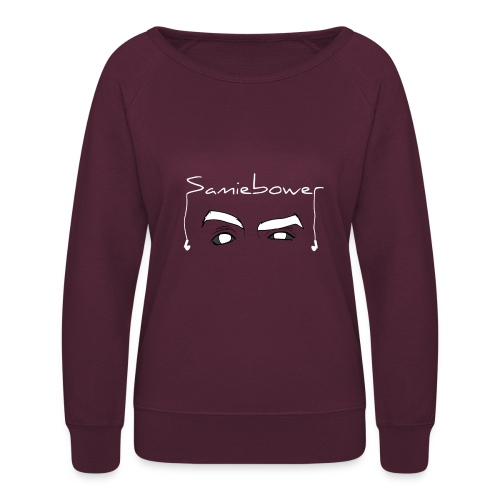 Bower Eyes (White) - Women's Crewneck Sweatshirt