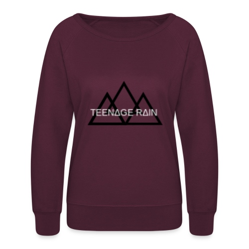 TEENAGE RAIN SWEATSHIRTS - Women's Crewneck Sweatshirt