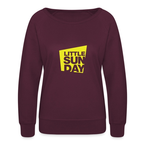 littleSUNDAY Official Logo - Women's Crewneck Sweatshirt