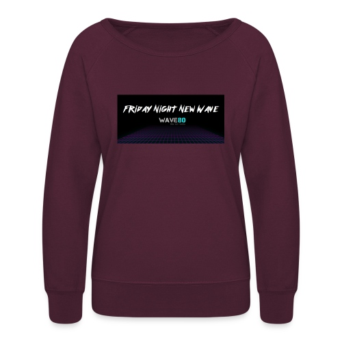 Friday Night New Wave - Women's Crewneck Sweatshirt