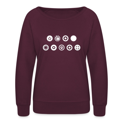 Axis & Allies Country Symbols - One Color - Women's Crewneck Sweatshirt
