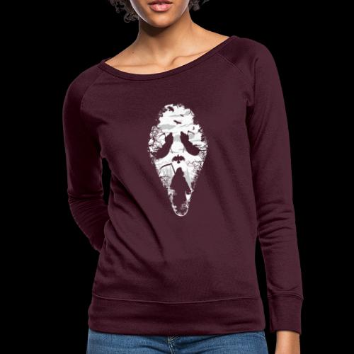 Reaper Screams | Scary Halloween - Women's Crewneck Sweatshirt