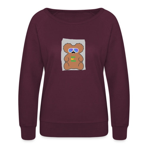 Aussie Dad Gaming Koala - Women's Crewneck Sweatshirt