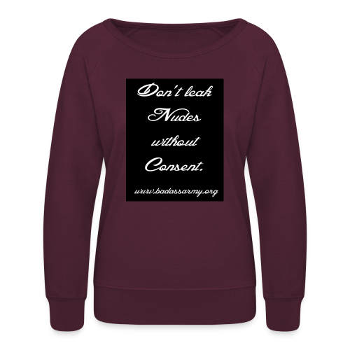 Leaked consent - Women's Crewneck Sweatshirt