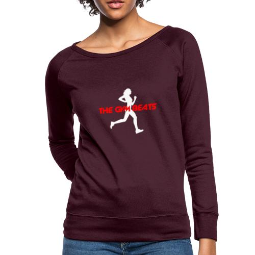 The GYM BEATS - Music for Sports - Women's Crewneck Sweatshirt