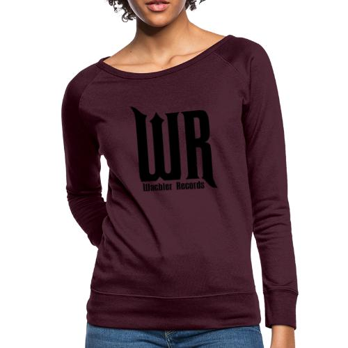 Wachler Records Dark Logo - Women's Crewneck Sweatshirt
