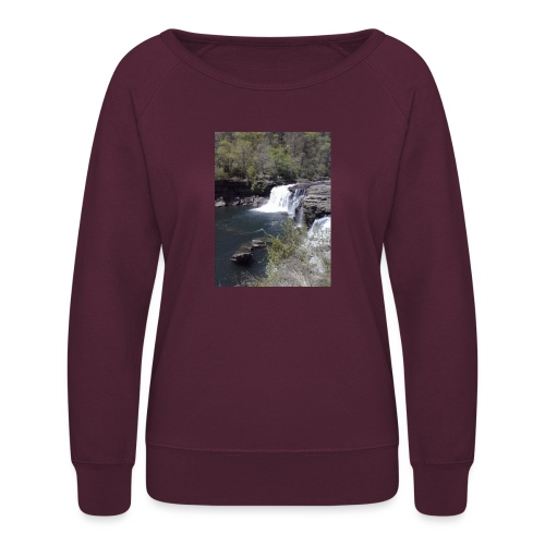 LRC waterfall - Women's Crewneck Sweatshirt