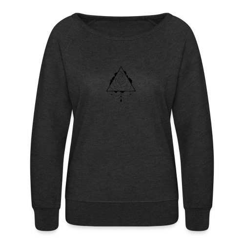 black rose - Women's Crewneck Sweatshirt