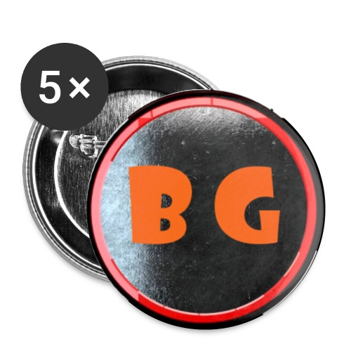 LOGO png - Buttons small 1'' (5-pack)