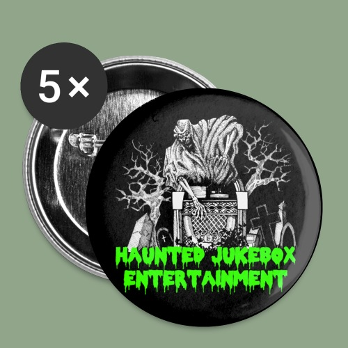 Haunted Jukebox Logo Button - Buttons small 1'' (5-pack)