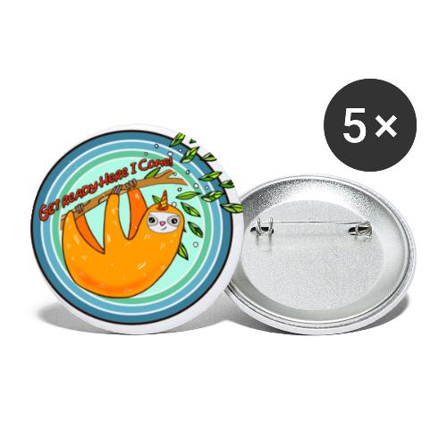 Slothicorn - Buttons small 1'' (5-pack)