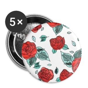 Rose Pattern - Small Buttons