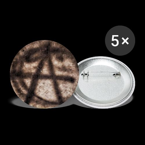 ANARCHY SIDEWALK PHOTO - Buttons small 1'' (5-pack)