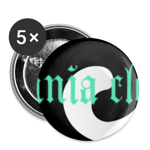 SPIRAL BUTTON INSOMNIA CLOTHING - Buttons small 1'' (5-pack)
