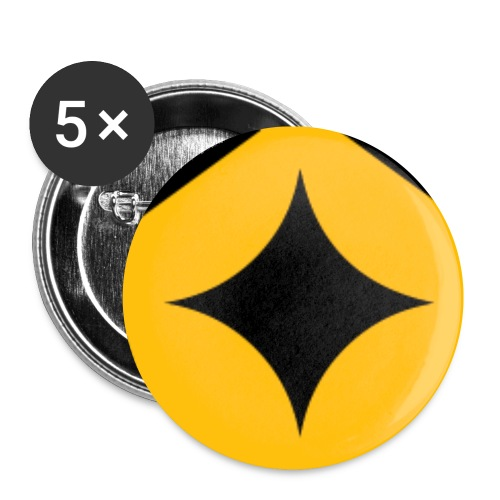 pin logo png - Buttons small 1'' (5-pack)