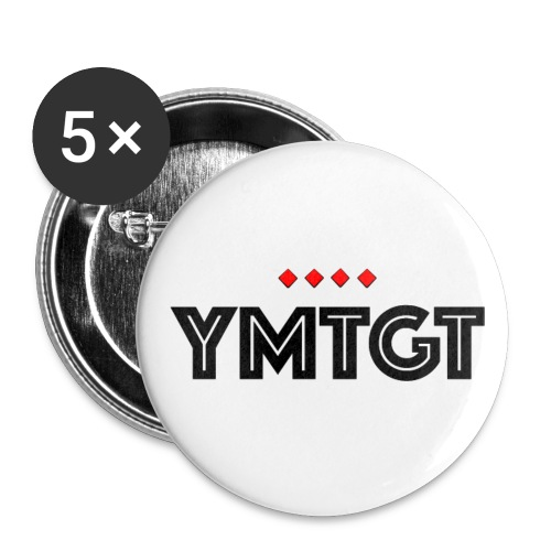 YMTGT Logo - Buttons small 1'' (5-pack)