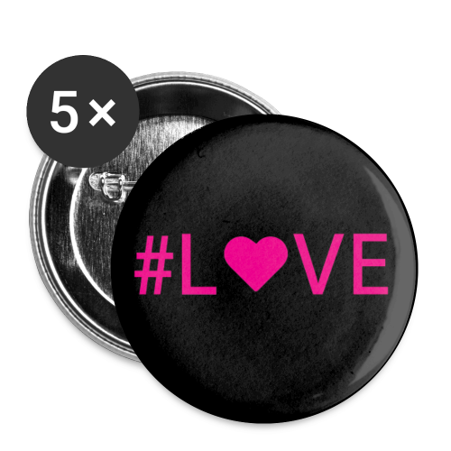 #LOVE - Small Buttons