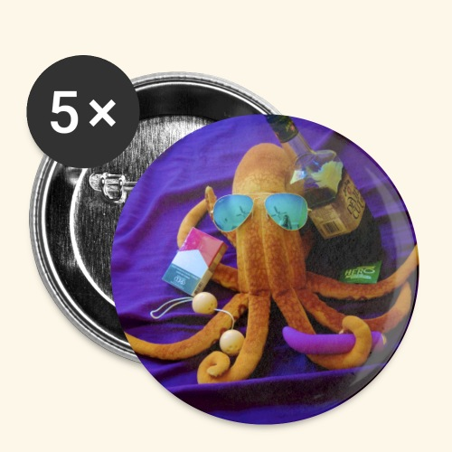 Mr squiddy - Buttons small 1'' (5-pack)