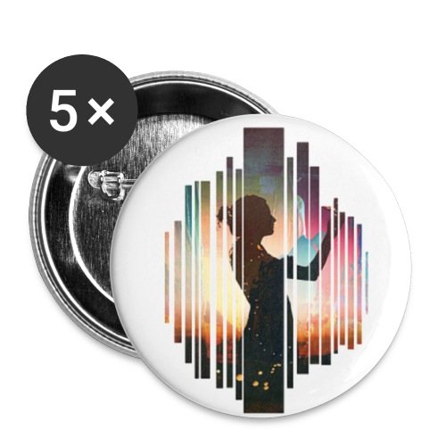 Symmetrix Being There - Buttons small 1'' (5-pack)