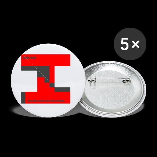 inator army logo 1 - Buttons small 1'' (5-pack)