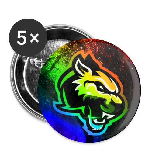 Niixyy Rainbow - Small Buttons