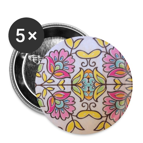 Flowers - Small Buttons