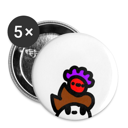 Bloby - Buttons small 1'' (5-pack)