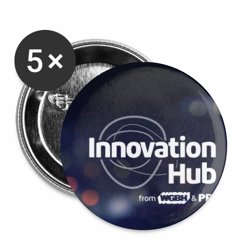 Innovation Hub button with color - Small Buttons