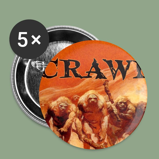 Crawl Neanderthal Button