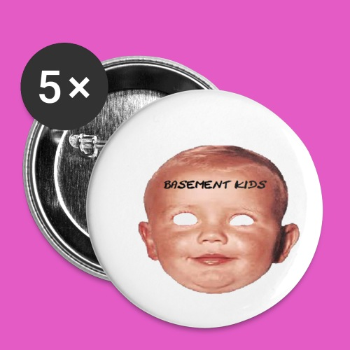 BABY FACE - Buttons small 1'' (5-pack)