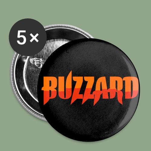 Buzzard Logo 1 button - Buttons small 1'' (5-pack)