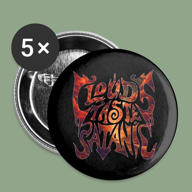Clouds Taste Satanic Dawn Logo button