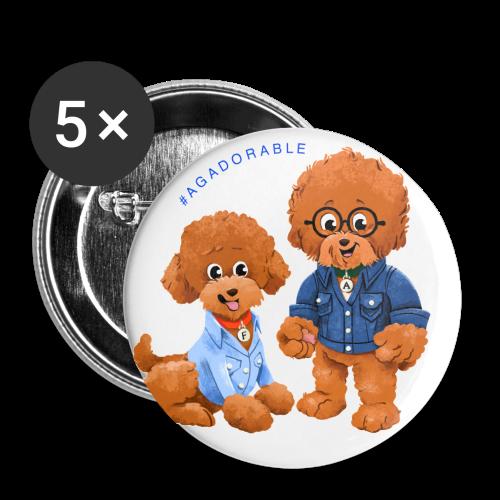 Agadorable button - Small Buttons