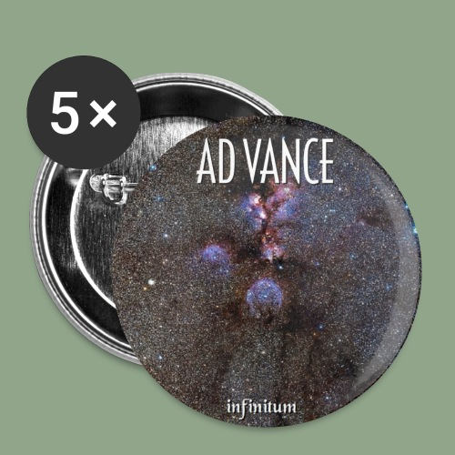 Ad Vance Infinitum Button - Buttons small 1'' (5-pack)