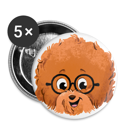 AGADOR HEAD transparent - Small Buttons