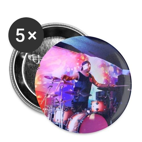 Orgo Martinez Drummer - Small Buttons