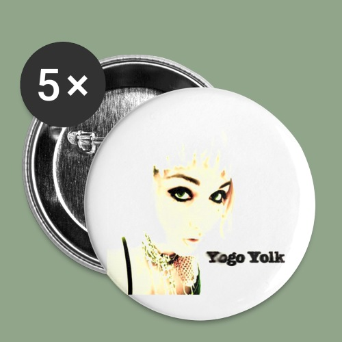 Yogo Yolk Button - Buttons small 1'' (5-pack)