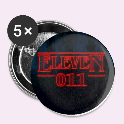 Eleven 011 Stranger Things Circle - Buttons small 1'' (5-pack)