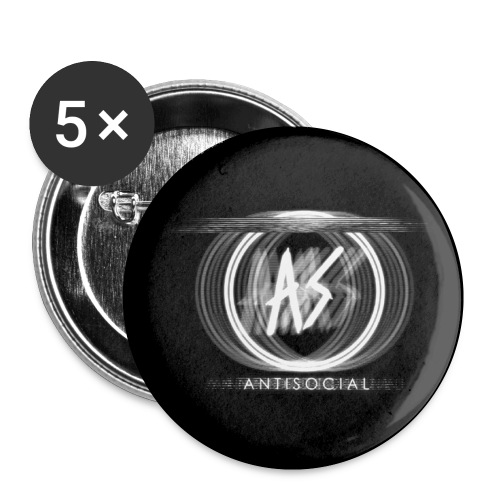Antisocial Pins - Small Buttons