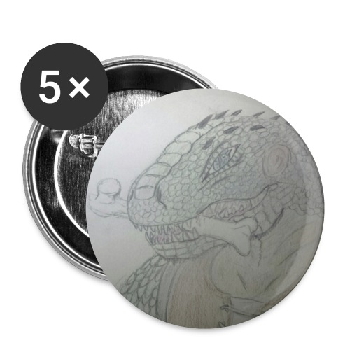 Scaleback Ironclaw Buttons - Buttons small 1'' (5-pack)