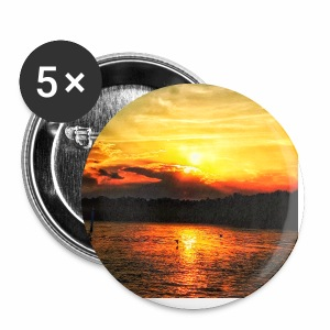 Sunset on paradise - Small Buttons