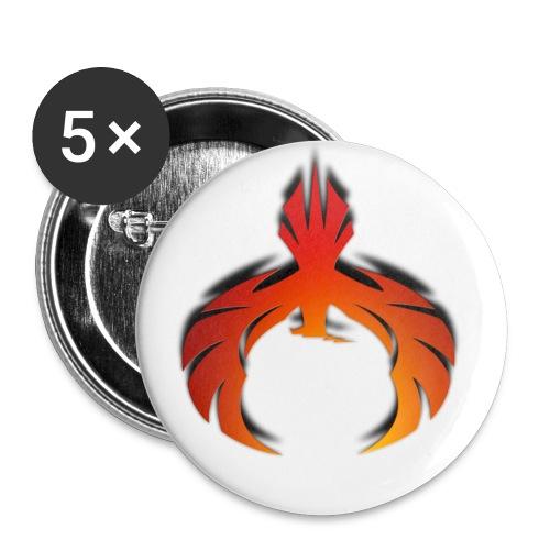 Downphoenix Phoenix Logo - Buttons small 1'' (5-pack)