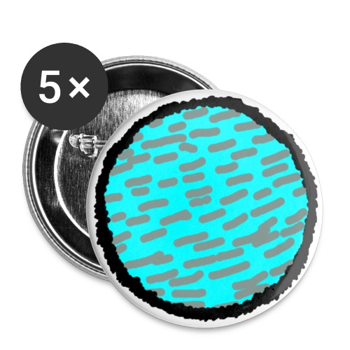 silk method - Buttons small 1'' (5-pack)