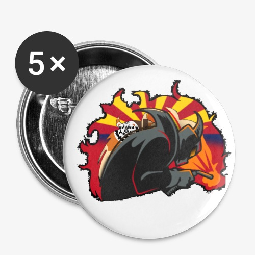 2018 PHS Welding Logo - Buttons small 1'' (5-pack)