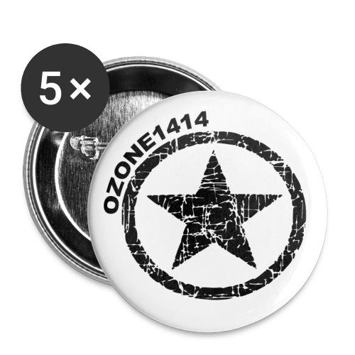 ozonestarblack - Small Buttons