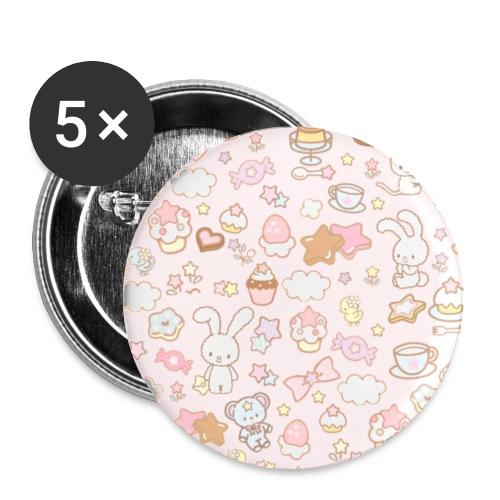 Kawaii Print 1 - Small Buttons