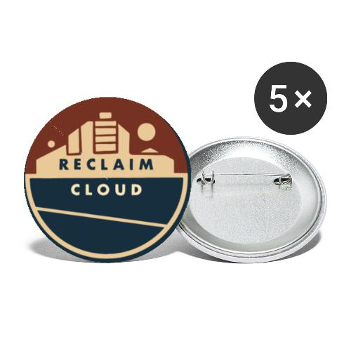 Reclaim Cloud - Buttons small 1'' (5-pack)