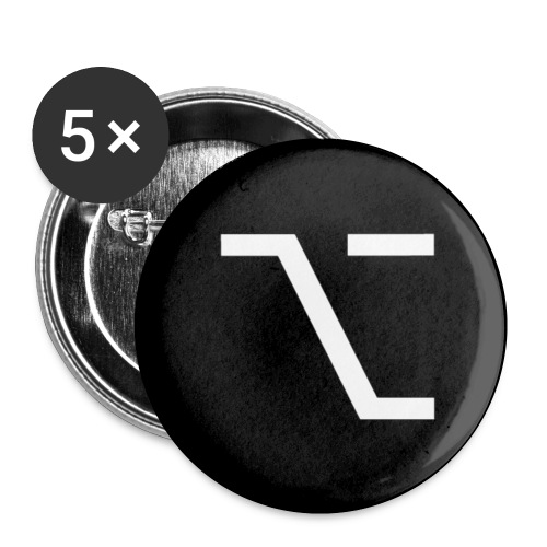 button option - Buttons small 1'' (5-pack)