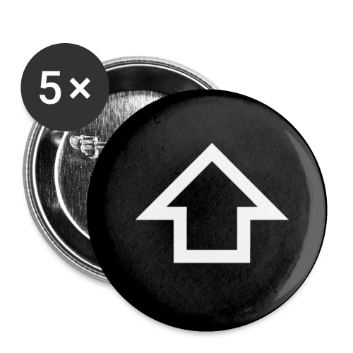 button shift - Buttons small 1'' (5-pack)