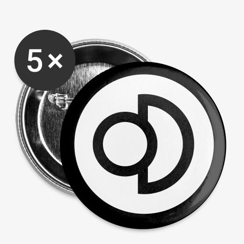 deconbrio logo button - Buttons small 1'' (5-pack)